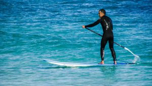 stand-up paddleboarding cornwall
